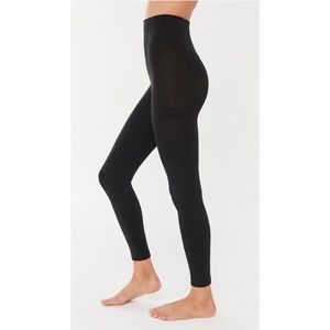 UO High Waisted Fleece-Lined Footless Tight